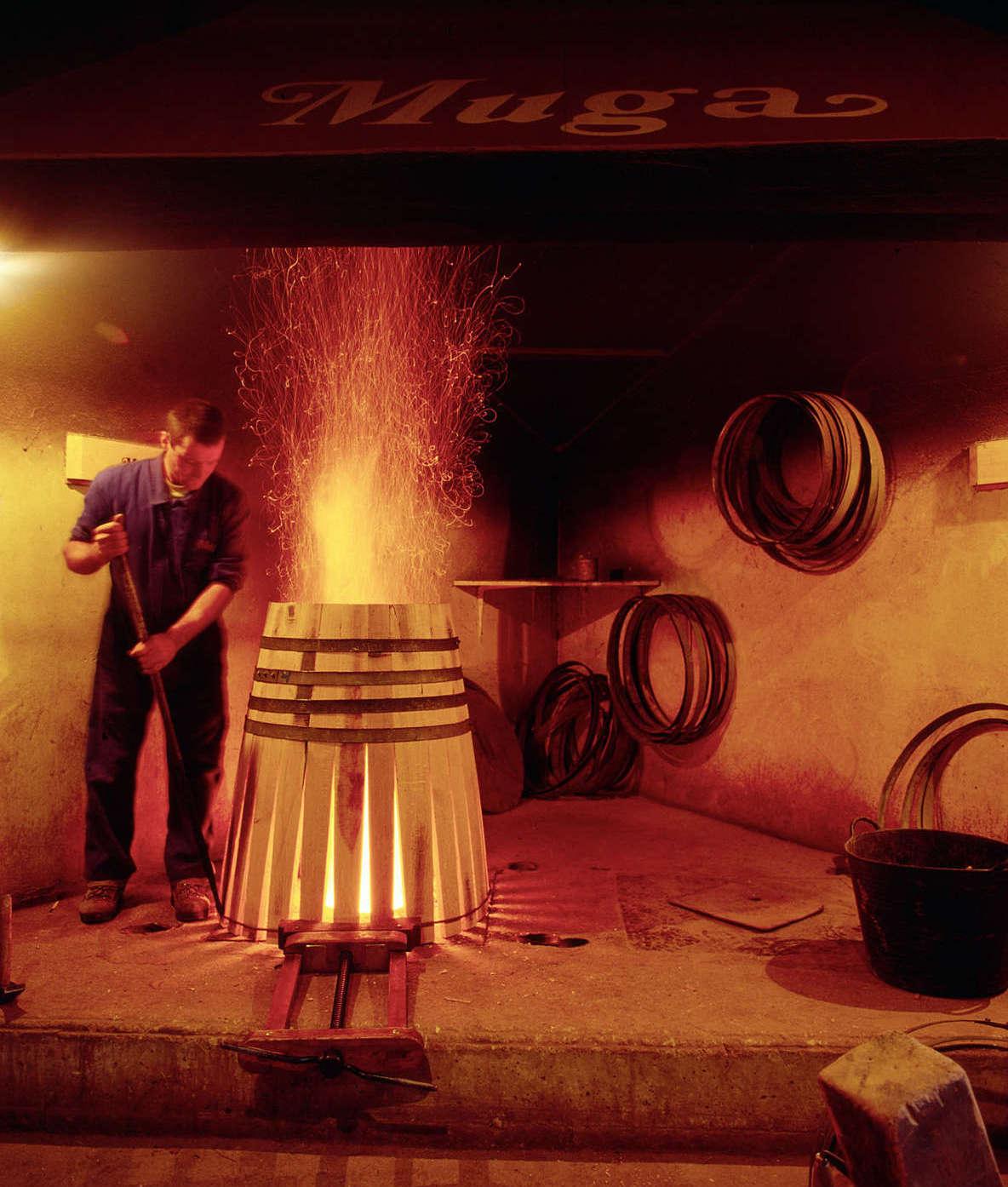 Bodegas Muga, taller de tonelería