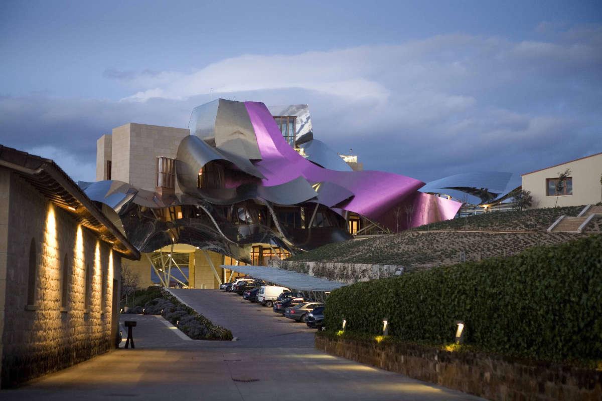 Marqués de Riscal, hotel de Frank Gehry