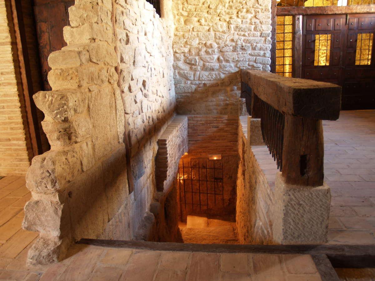 Bodegas Marqués de Arviza, salida de los calados