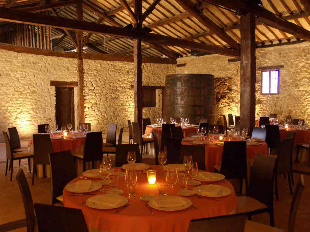 Bodegas Marqués de Arviza, salón comedor