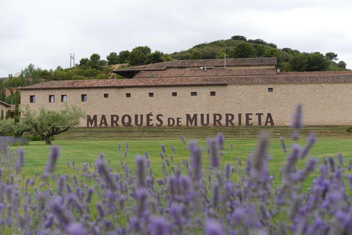 Marqués de Murrieta, jardines