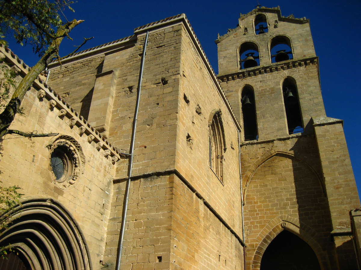 Laguardia, iglesia de San Juan. © A. Cobo
