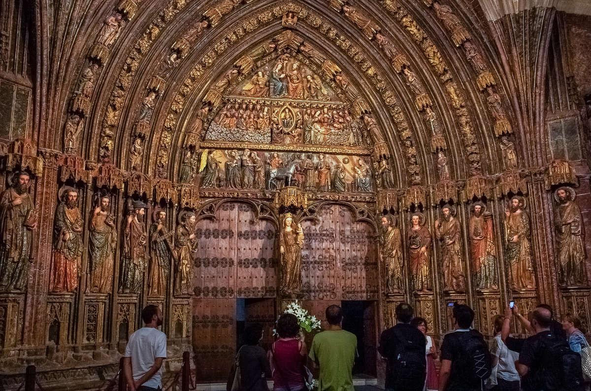 Laguardia, iglesia de Santa María de los Reyes