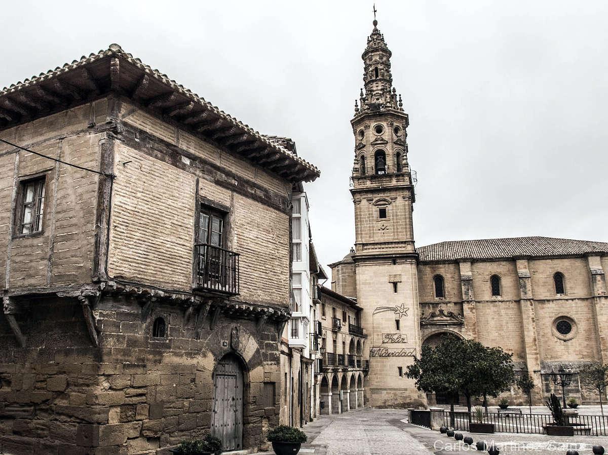 Briones, iglesia y casa medieval. © Carlos Martínez Sainz