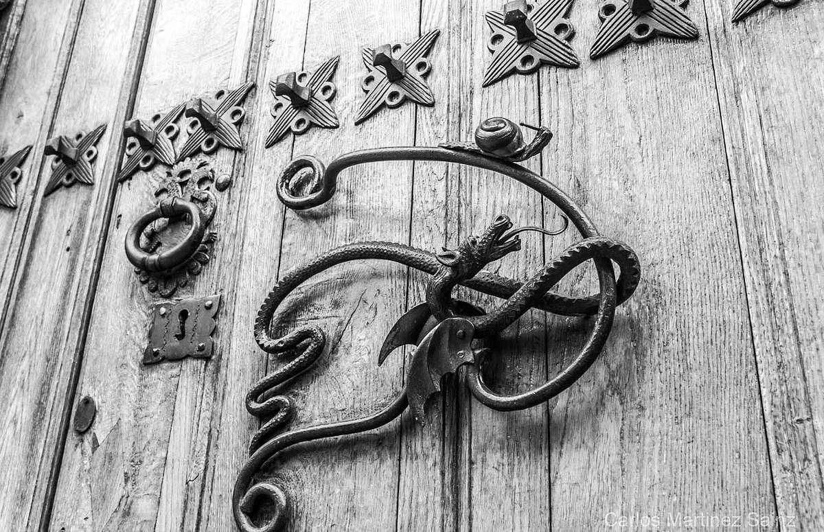 Briones, puerta antigua. © Carlos Martínez Sainz