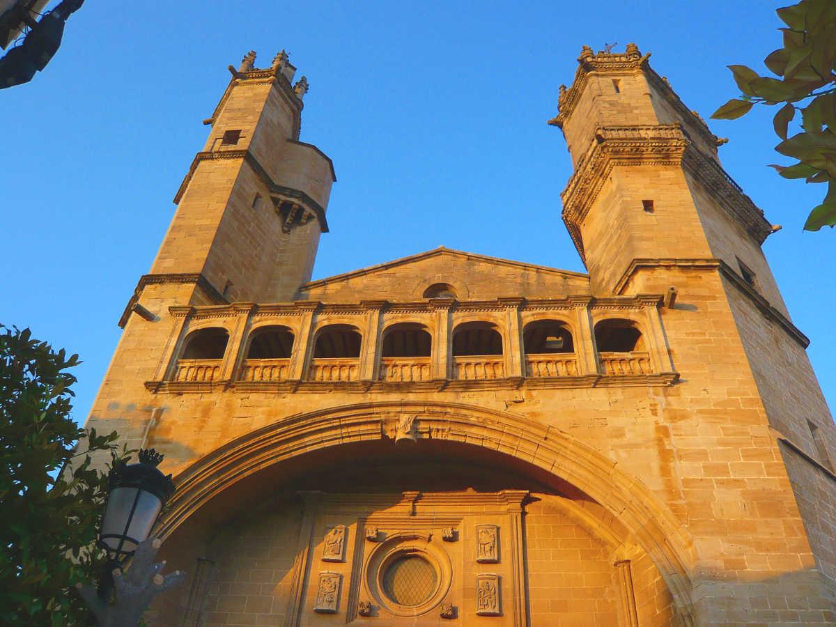 Elciego, iglesia de San Andrés
