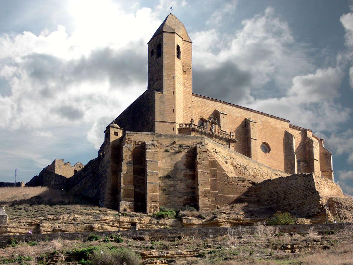 Iglesia de Santa María, San Vicente de la Sonsierra. © Carlos Sieiro del Nido