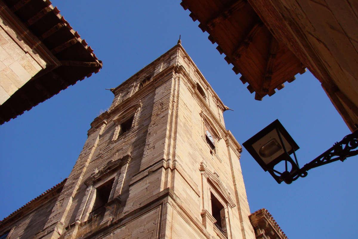 Navarrete, iglesia de Santa María de la Asunción