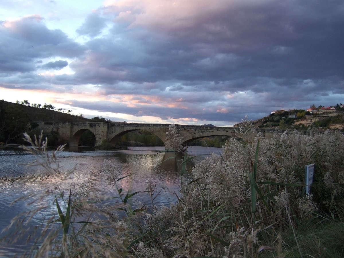 San Vicente de la Sonsierra, puente