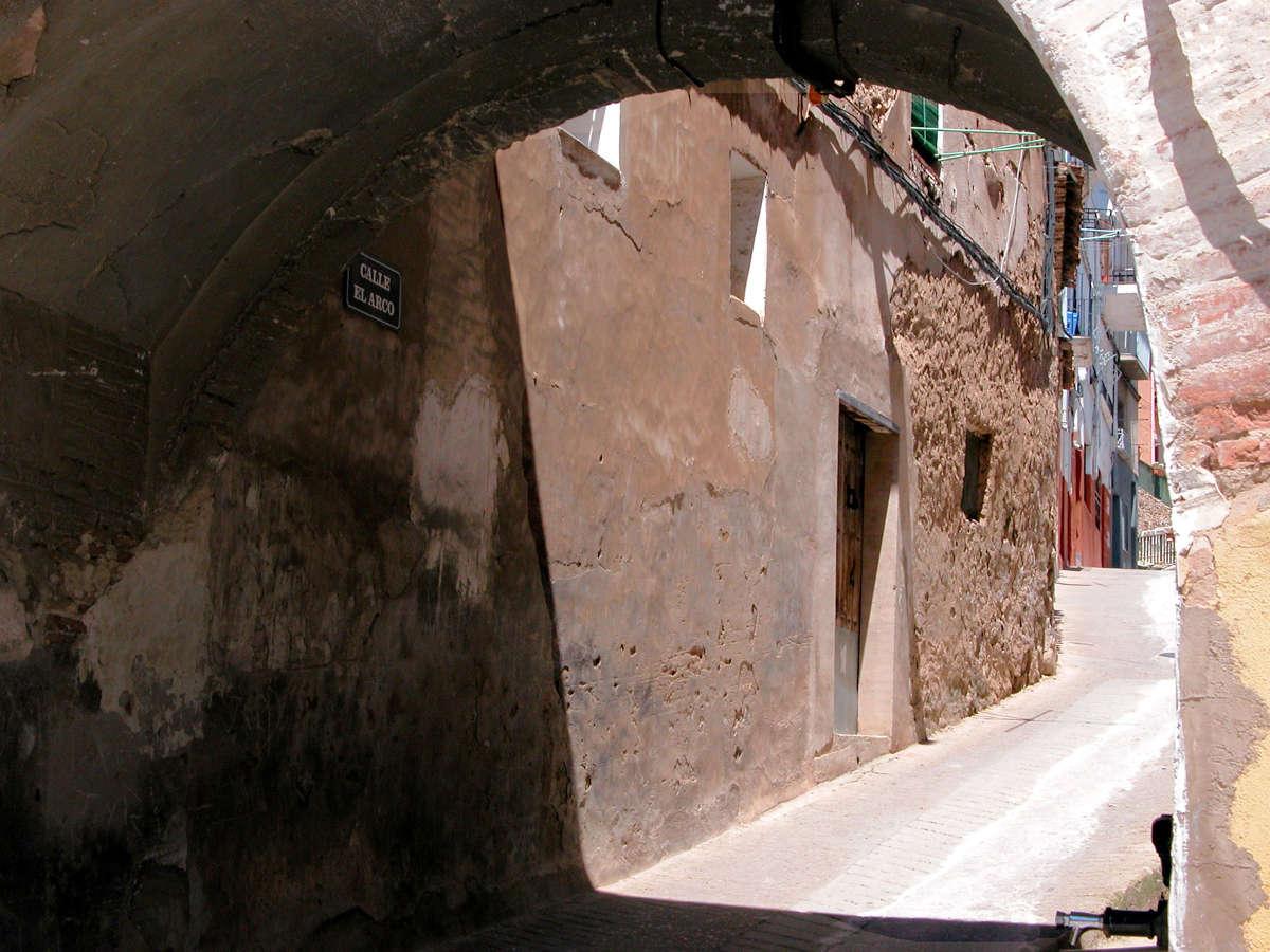 Autol, calle El Arco. © Carlos Sieiro del Nido