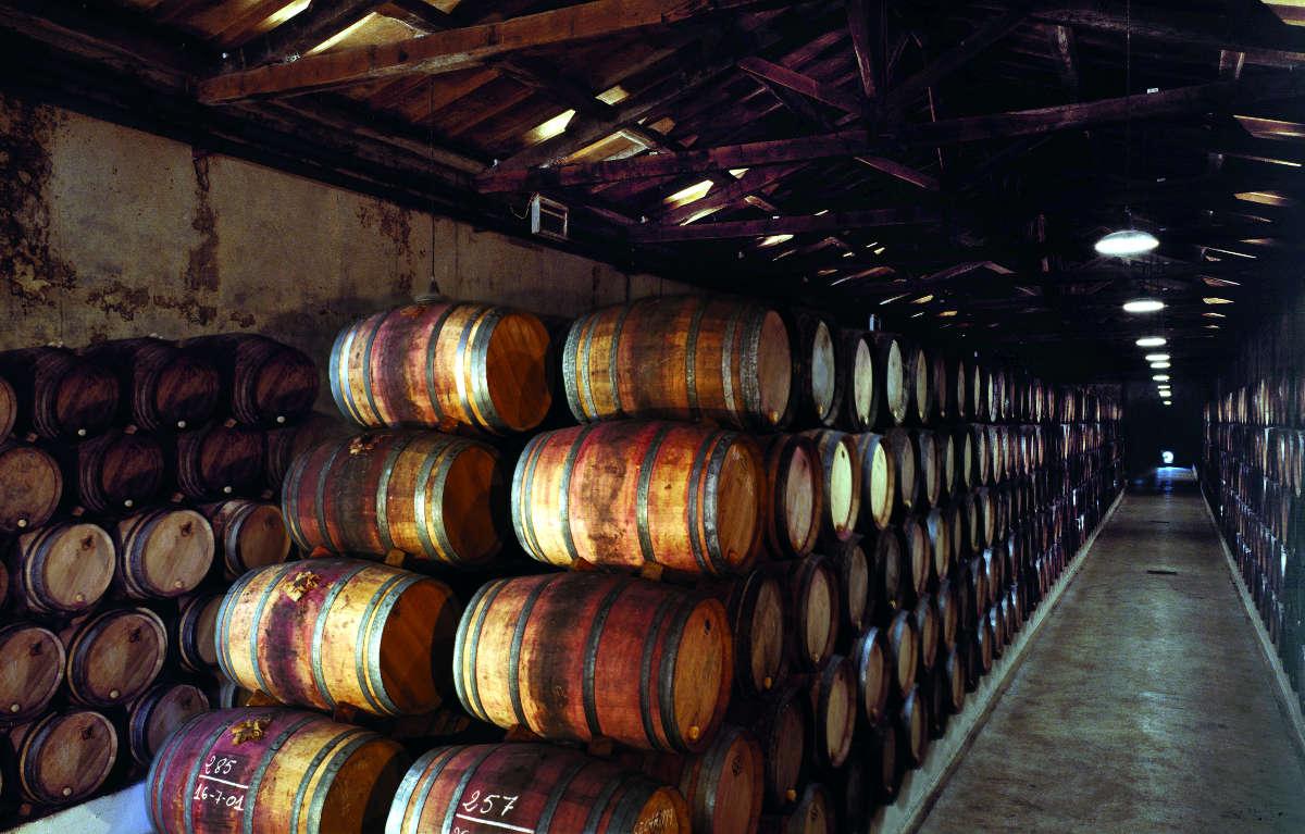 Bodegas La Rioja Alta, nave de crianza