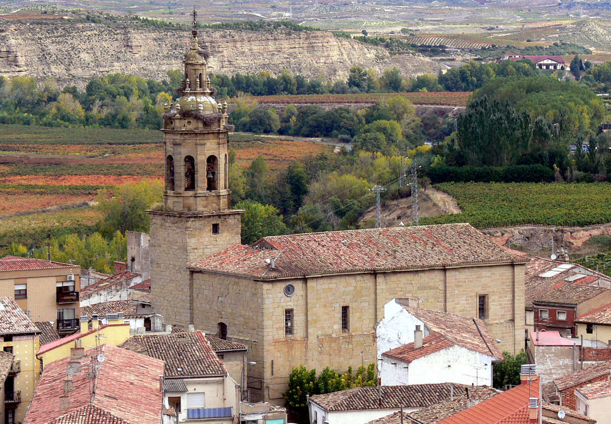 Cenicero, iglesia de San Martín. © Carlos Sieiro del Nido