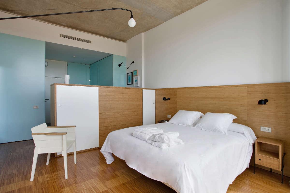 Finca de los Arandinos, habitación diseñada por David Delfín