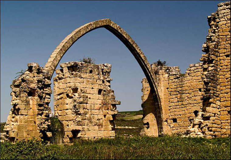 Aras (Rioja Oriental, Navarra), ruinas de San Juan del Ramo.