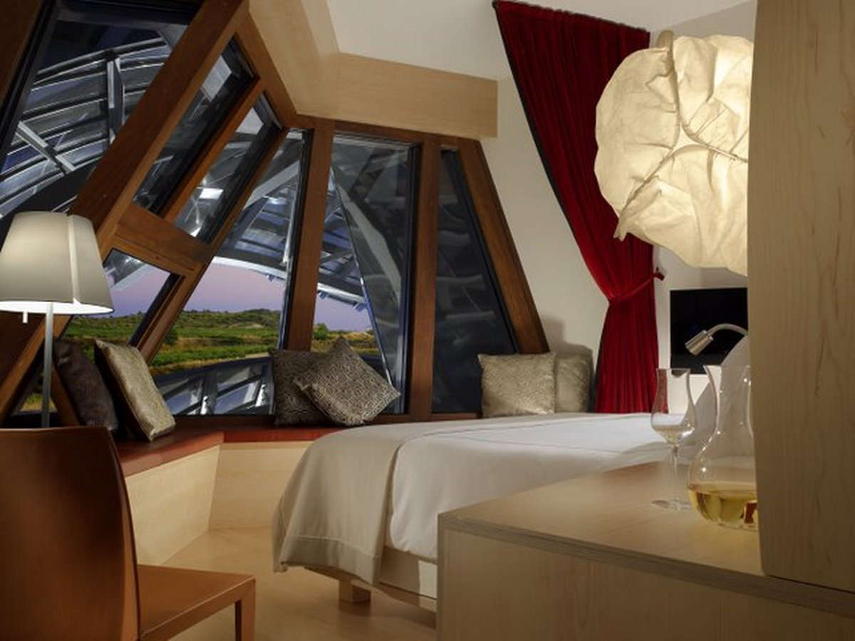 Hotel Marqués de Riscal - habitación