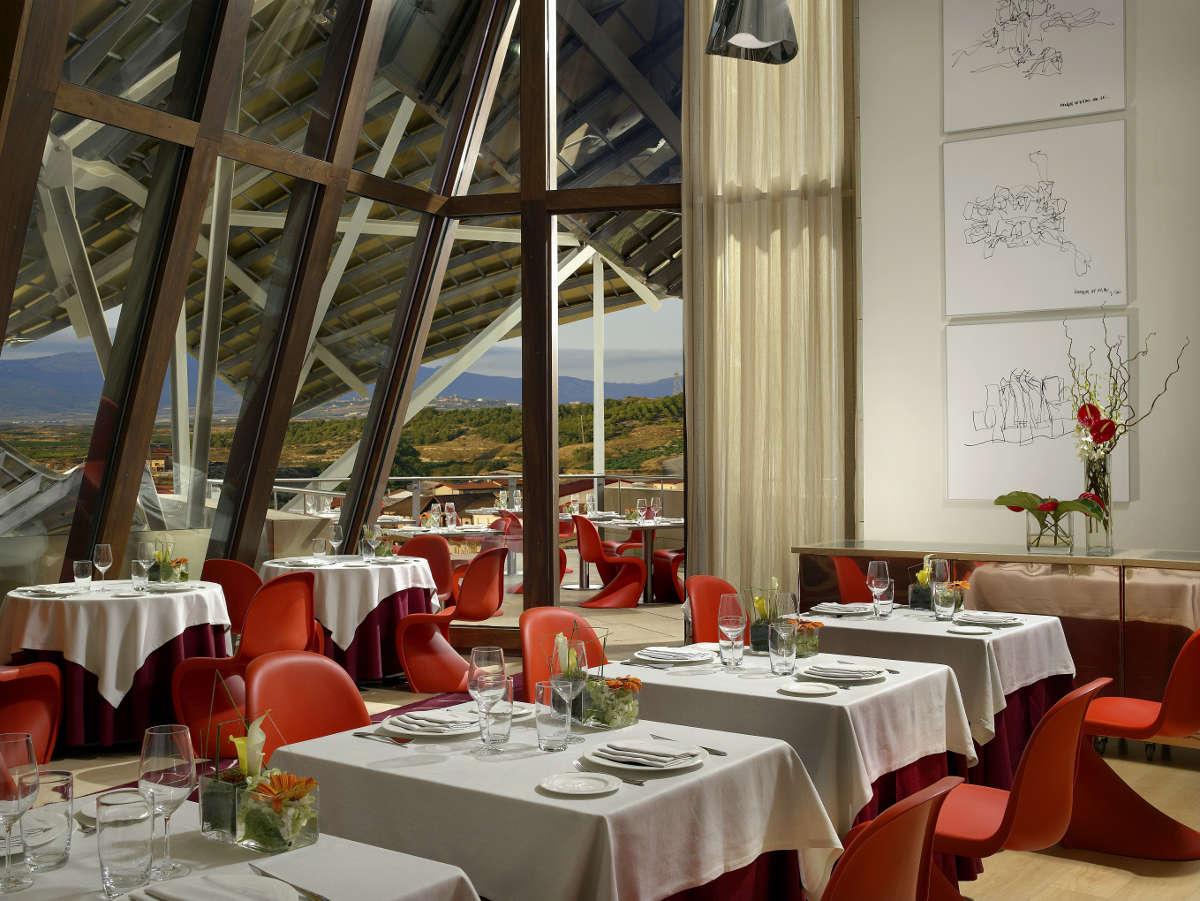 Hotel Marqués de Riscal - restaurante 1860 Tradición
