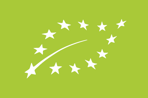 Logotipo de producción ecológica de la Unión Europea